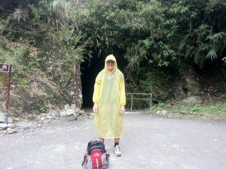 This poncho was really useful in Taiwan!