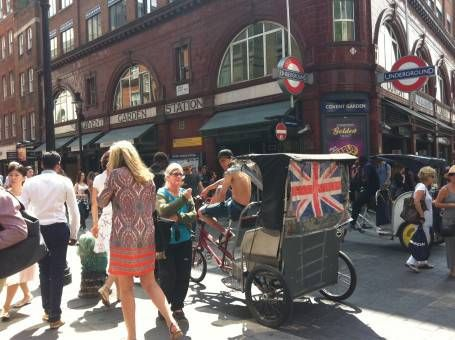 Visiting Covent Garden, London