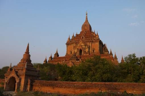 Red Temple in Bagan