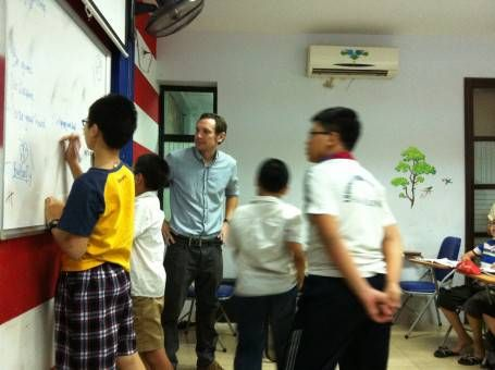 An English Lesson in Vietnam