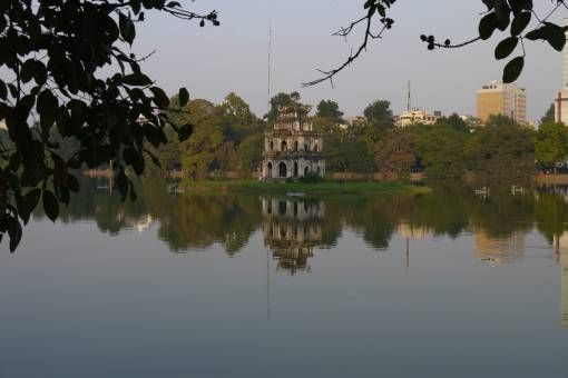 Turtle Pagoda, Hoan Kiem Lake, Hanoi's Old Quarter