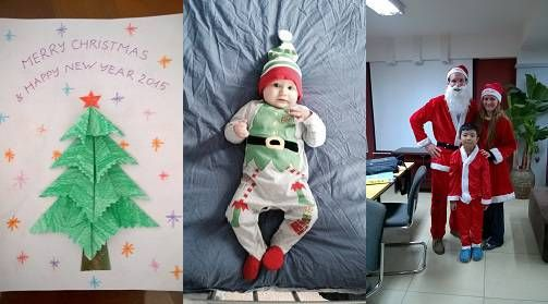 Christmas Cards and Costumes
