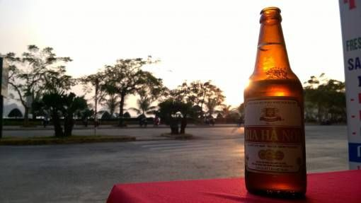 Sunset and a Beer on Cat Ba Island