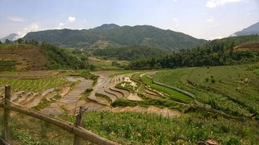 Countryside views in Sapa