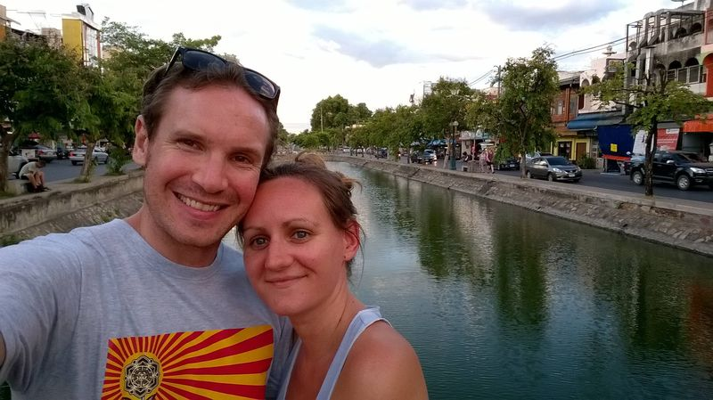 Us in Chiang Mai, Thailand