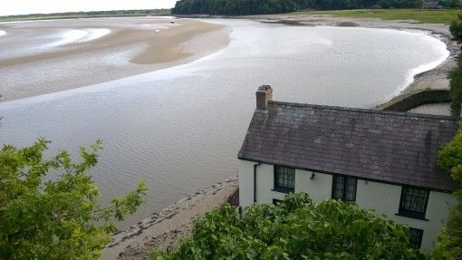 Dylan Thomas' Boathouse, Laugharne