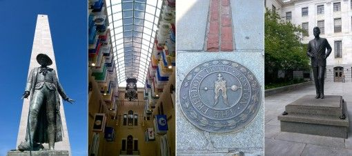 Famous sights along Boston's Freedom Trail