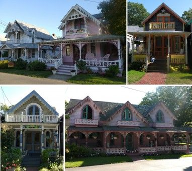 Oak Bluffs Gingerbread Houses on Martha's Vineyard