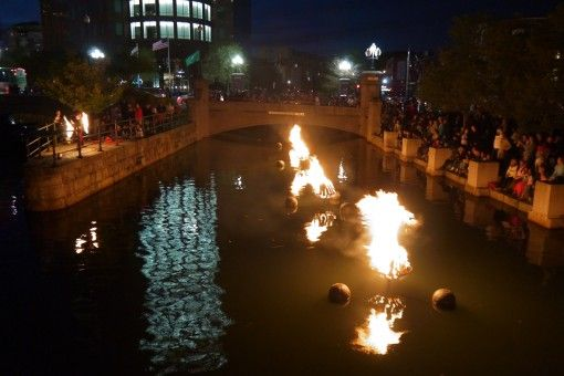 WaterFire in Providence