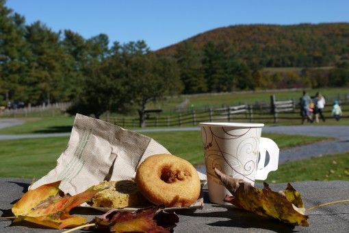 Apple Cider and Donuts at Billings Farm and Museum in Vermont