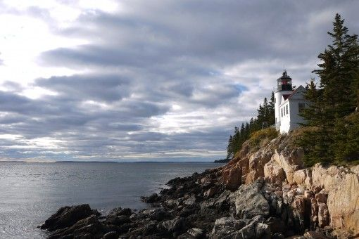 Bass Harbor Head Lighthouse, Mt Desert Island