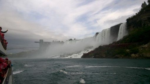 The American Falls from the boat