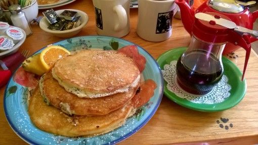Maple Syrup and Pancakes in New England