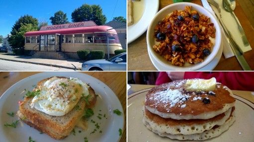 Delicious breakfasts from around New England