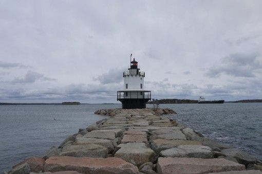 Lighthouse in South Portland, Maine