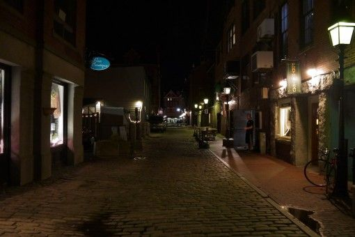 Atmospheric Street in Portland, ME