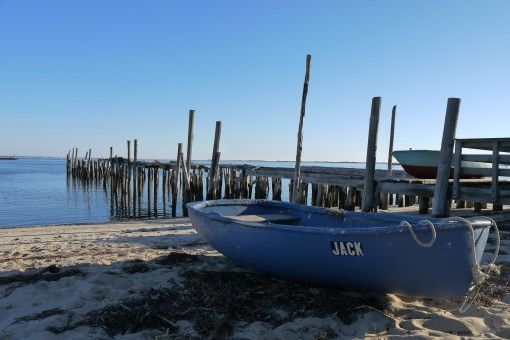 Beach and Boat in Provincetown, Cape Cod