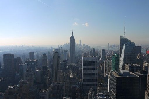 View of Downtown Manhattan from the Top of the Rock