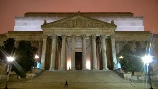 The National Archives in Washinton DC