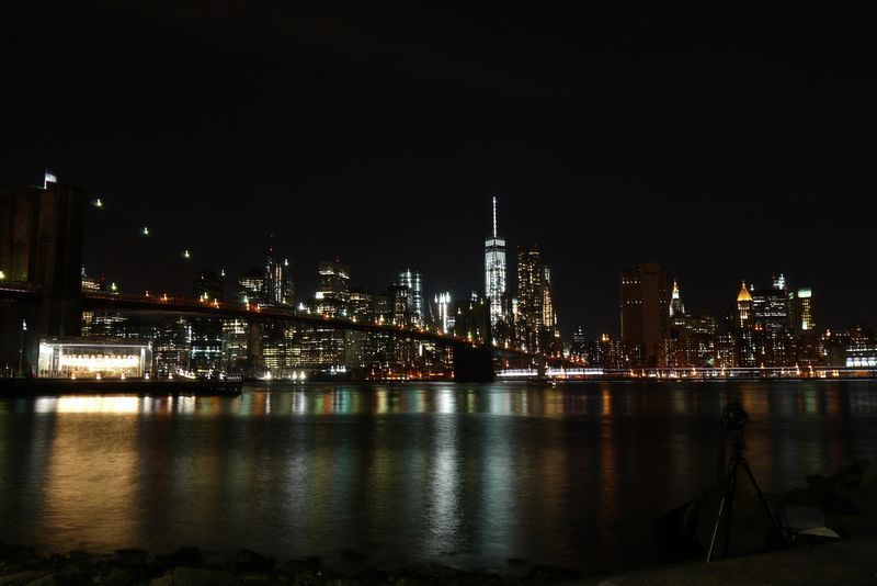 View of Manhattan by Night