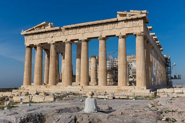 The Parthenon on the Acropolis, Athens