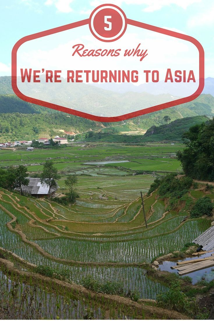 5 reasons why we're returning to Asia