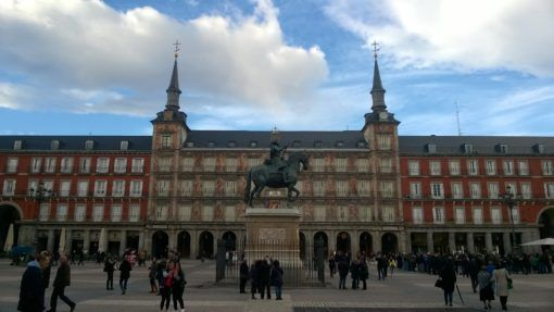 Madrid's beautiful Plaza Mayor