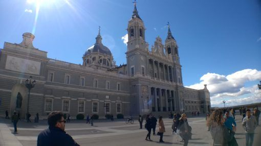 The Palacio Real, Madrid