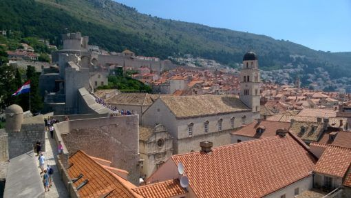 Dubrovnik's historic Old Town