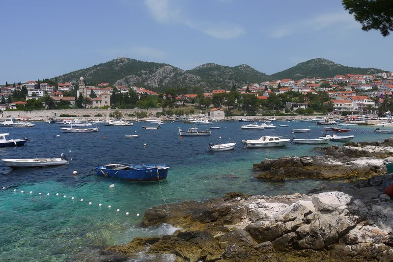 View of Hvar City, Hvar Island, Croatia