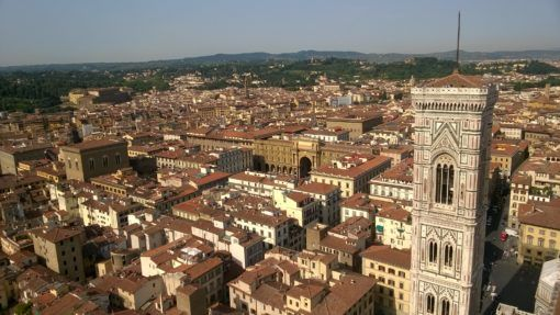 View over Florence from the Duomo