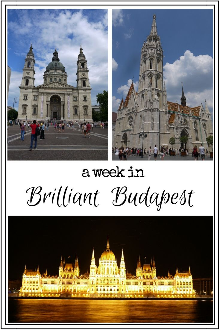 A week in brilliant Budapest Pin