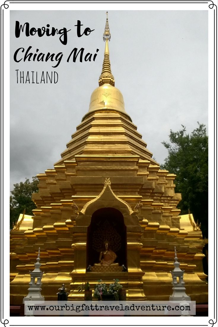 Moving to Chiang Mai, Thailand. Pinterest