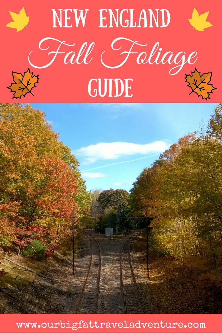New England Fall Foliage Guide, Pinterest