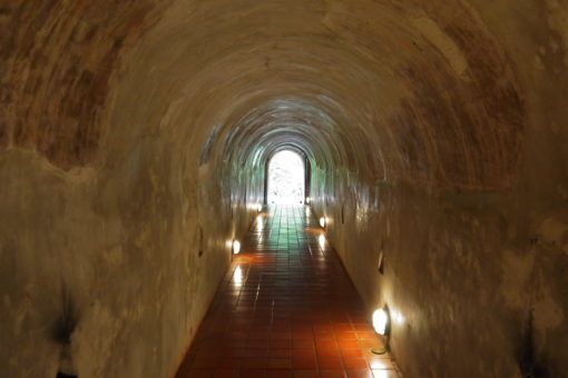 Tunnel at Wat Umong Temple, Chiang Mai, Thailand