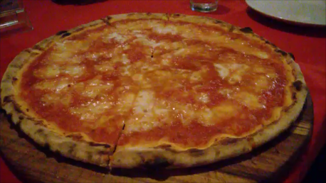 Pizza from Why Not? Restaurant in Chiang Mai