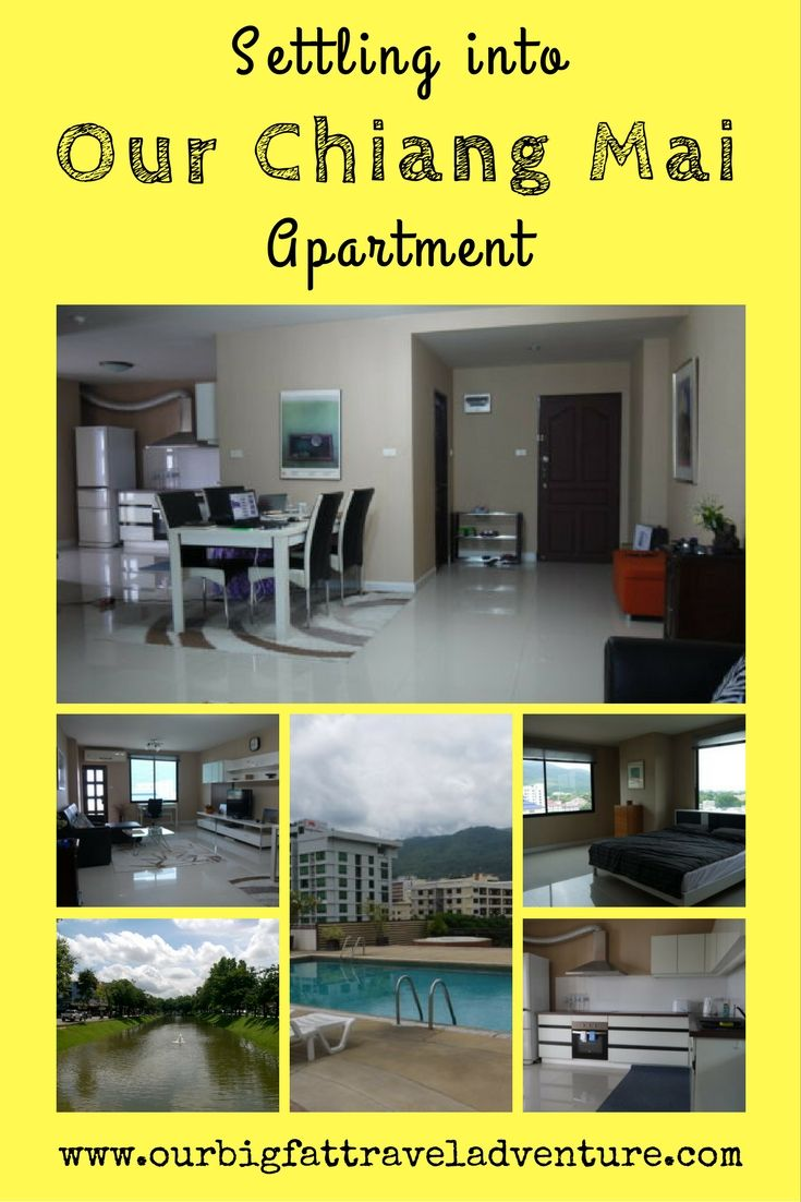 Settling into our chiang mai apartment, pinterest