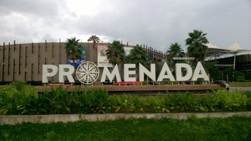 Promenada Mall in Chiang Mai, where the One Stop Service visa office is