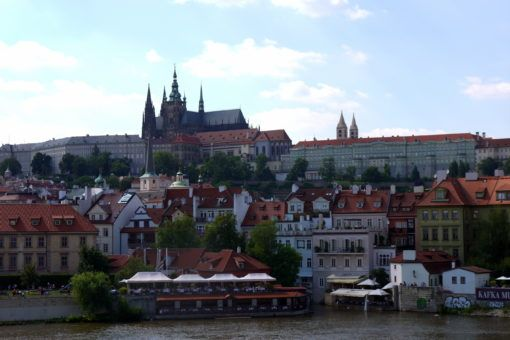 The View of Prague Castle from the Charles Bridge