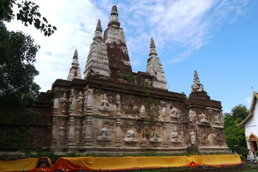 Wat Ched Yot, 7 spire temple in Chiang Mai