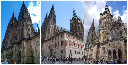 Collage of St Vitus Cathedral, Prague Castle