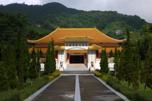 Chinese Martyrs' Memorial Museum in Mae Salong