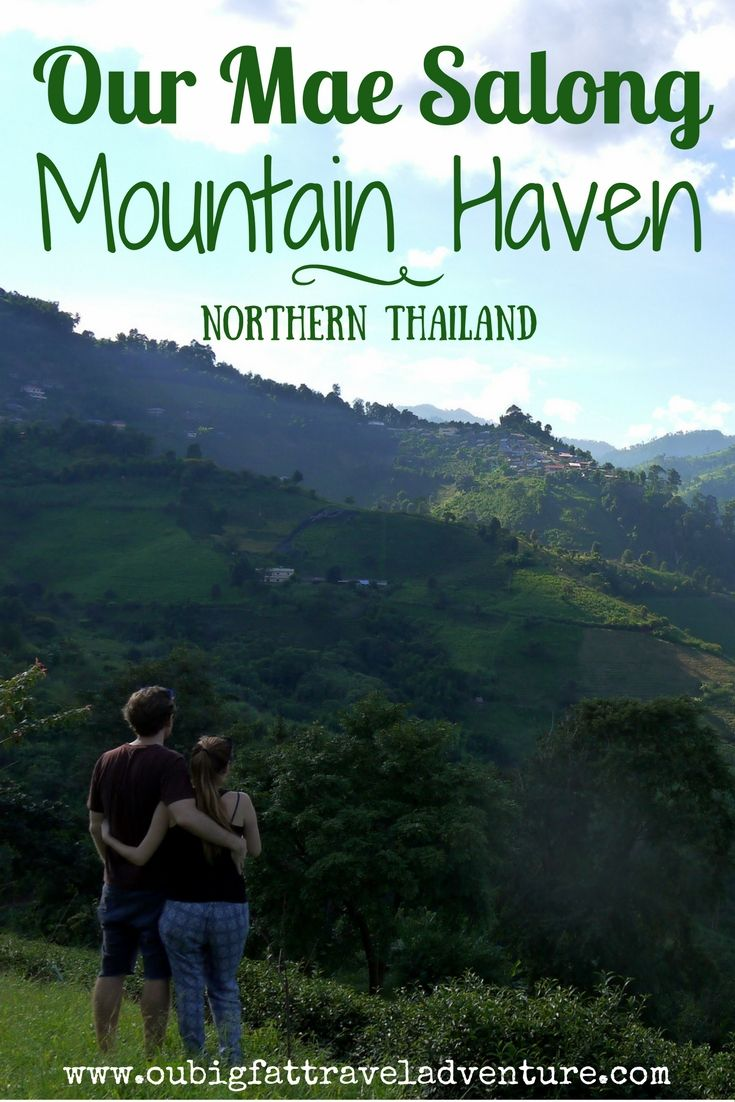 Our Mae Salong mountain haven, Pinterest poster