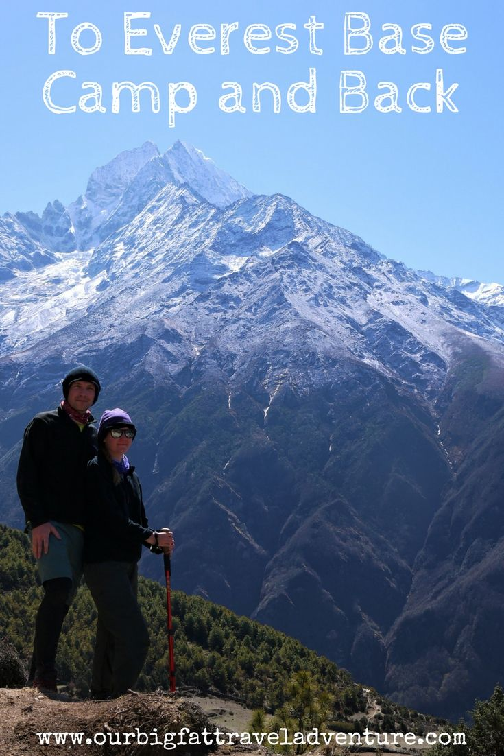To Everest Base Camp and Back Pinterest Pin