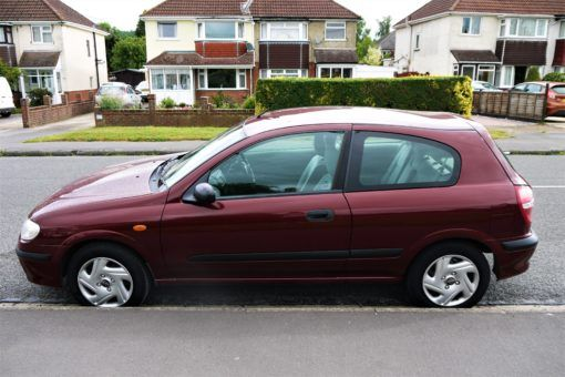 Our new wheels, Alma, the Nissan Almera