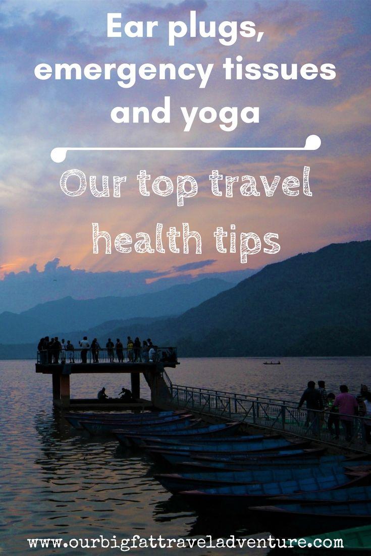 top travel health tips, Pinterest