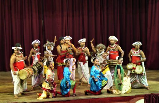 The Kandyan Arts Association dance performers