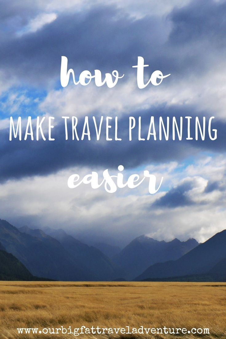 Organising a big trip can be stressful, from arranging visas, flights, hotels and local transport, here are some ways to make travel planning easier.
