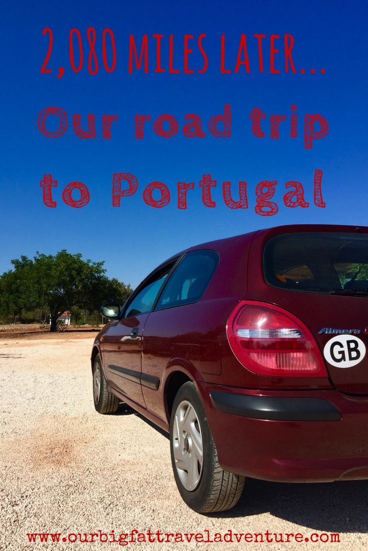 We spent a week driving 2,080 miles from the UK to Portugal via France, Belgium, The Netherlands and Spain, here's how our road trip to Portugal went.