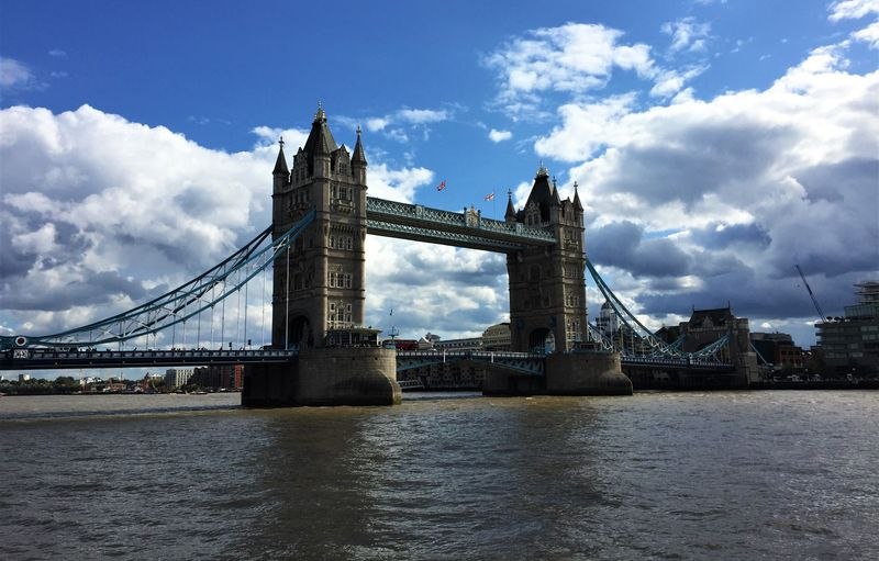 Cruise down the Thames and see sights like Tower Bridge
